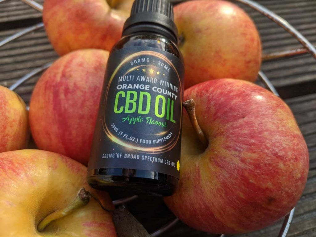 apple flavour orange county cbd
