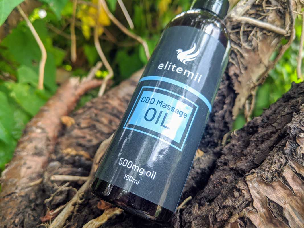 elitemii cbd massage oil