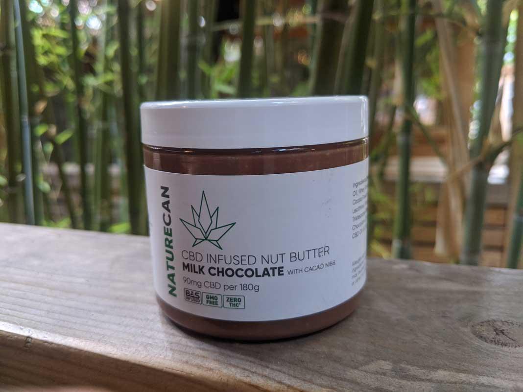 cbd nut butter chocolate