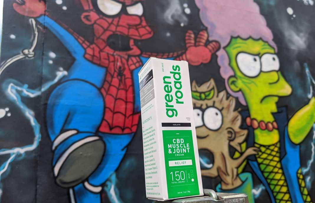 green roads CBD muscle cream