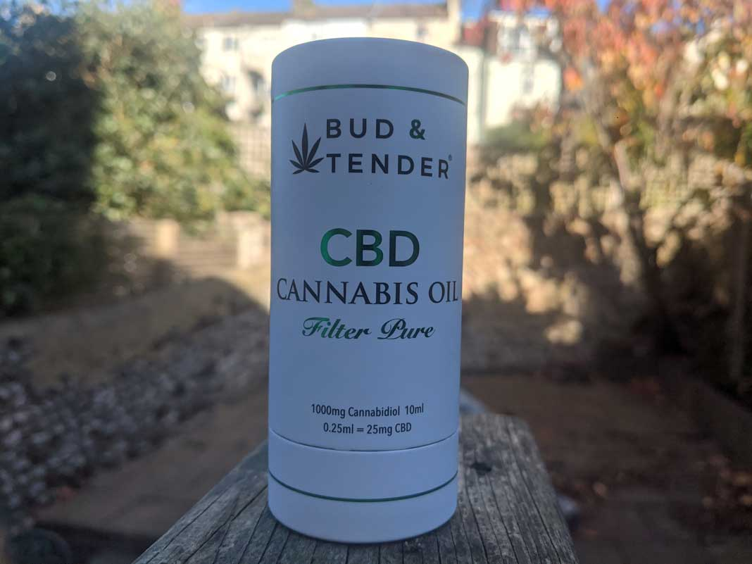 bud & Tender CBD oil